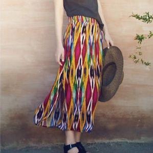 Anthropologie Vanessa Virginia Appoline Maxi Skirt